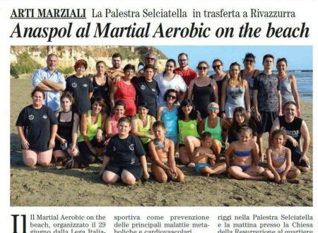 II° Martial Aerobic on the beach – 2017