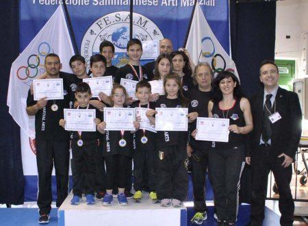 02/05/2015: Trionfo ANASPOL con 15 ori al World Cup 2015 di San Marino organizzato dalla IAKSA, la Fesam, il COMS e la FIKM
