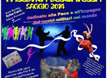 Saggio della Palestra dedicato ai militari italiani impegnati nelle missioni di Pace