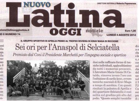 """01/08/2014: I Trofeo """"Riviera"""" di Riccione, 6 ori per l'ANASPOL"""