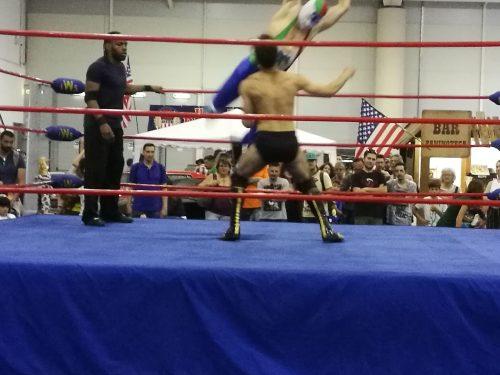 Il ns atleta Simone Marchetti debutta tra i Pro Wrestler