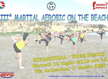 III° MARTIAL AEROBIC ON THE BEACH