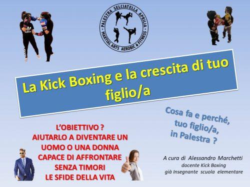 Incontro con i genitori degli atleti della Kick Boxing