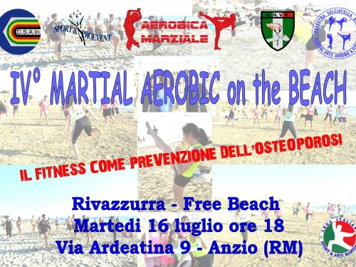 IV MARTIAL AEROBIC ON THE BEACH