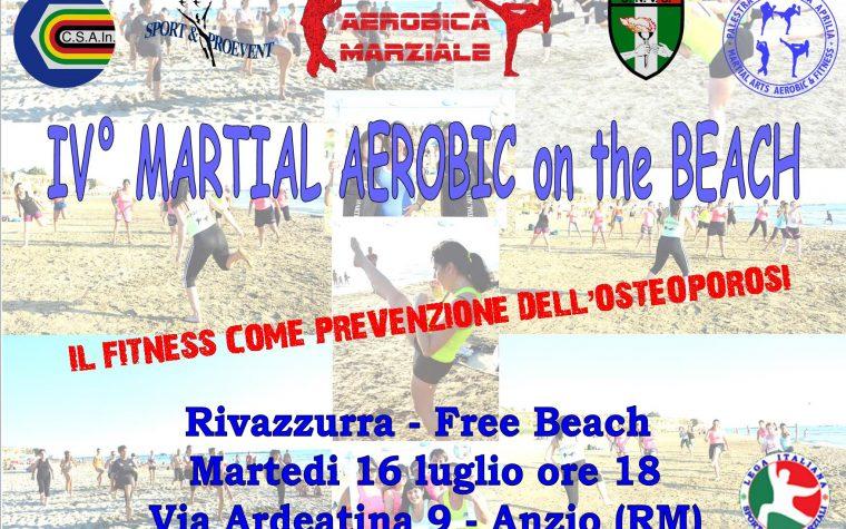 IV MARTIAL AEROBIC ON THE BEACH