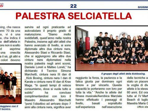 Le nostre cinture nere su Il Corriere Sportivo