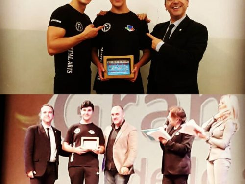 Al Gran Galà dello Sport 2019 di Aprilia, premiato tra gli atleti dell'anno il nostro Alessandro Stasi