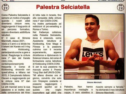 Il ns Simone Marchetti è Istruttore di Kick Boxing CSEN-CONI
