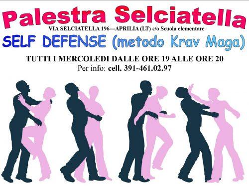 LA SELF DEFENSE PASSA DAL VENERDI AL MERCOLEDI orario 19-20