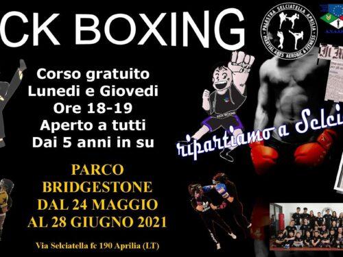 A grande richiesta, Riparte anche la Kickboxing
